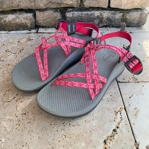 Chaco ZX1 Little Kids Ecotread Rend Pink Sandal 4